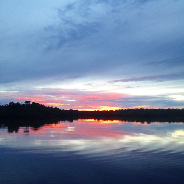 #sunset in the #Everglades